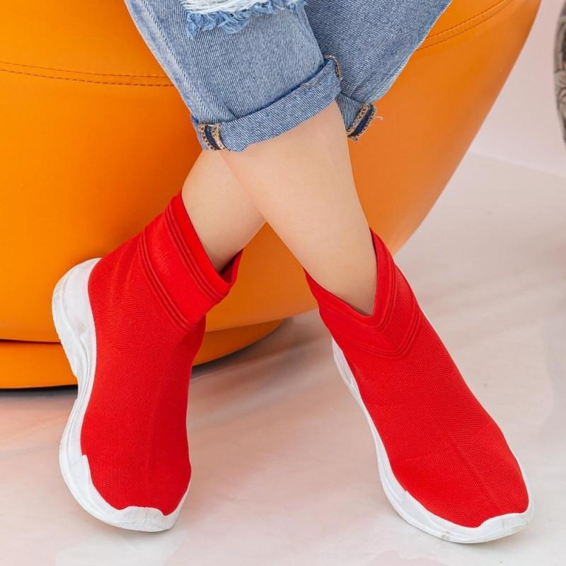Pantofi Sport Dama WS136 Red Mei
