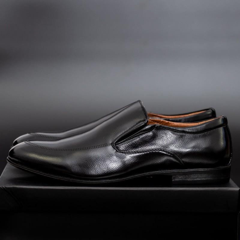 Pantofi Barbati 650 Black Mei