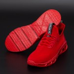Pantofi Sport Barbati L030 Red Mei
