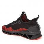 Pantofi Sport Barbati L030 Black-Red Mei