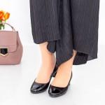 Pantofi cu Toc 063-5 Negru Hebe