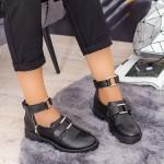 Pantofi Casual Dama ZP1980 Negru Mei