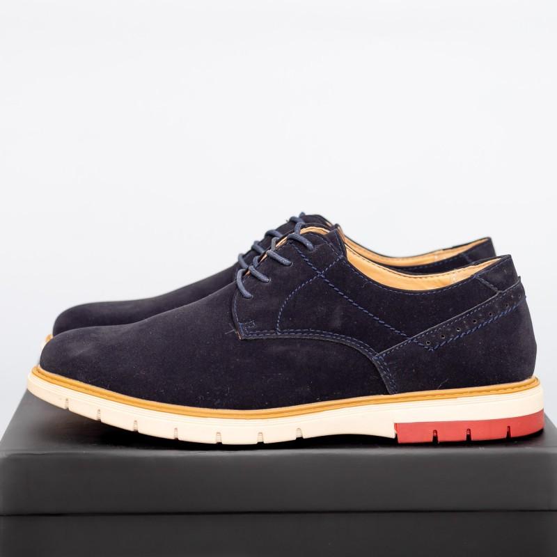Pantofi Casual Barbati L61213 Albastru Jinhuma