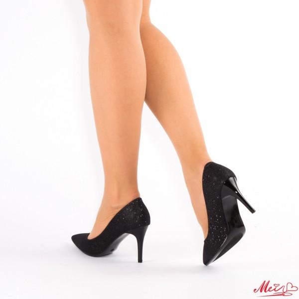 Pantofi cu Toc LLH15 Black Mei