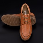 Pantofi Barbati E63-7C6-81BL Maro Mei