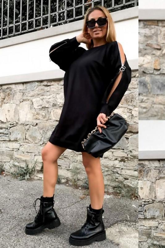 Rochie 30808 Negru Fashion