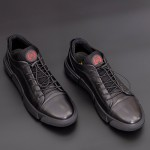 Pantofi Casual Barbati H348-3 Negru F.Gerardo