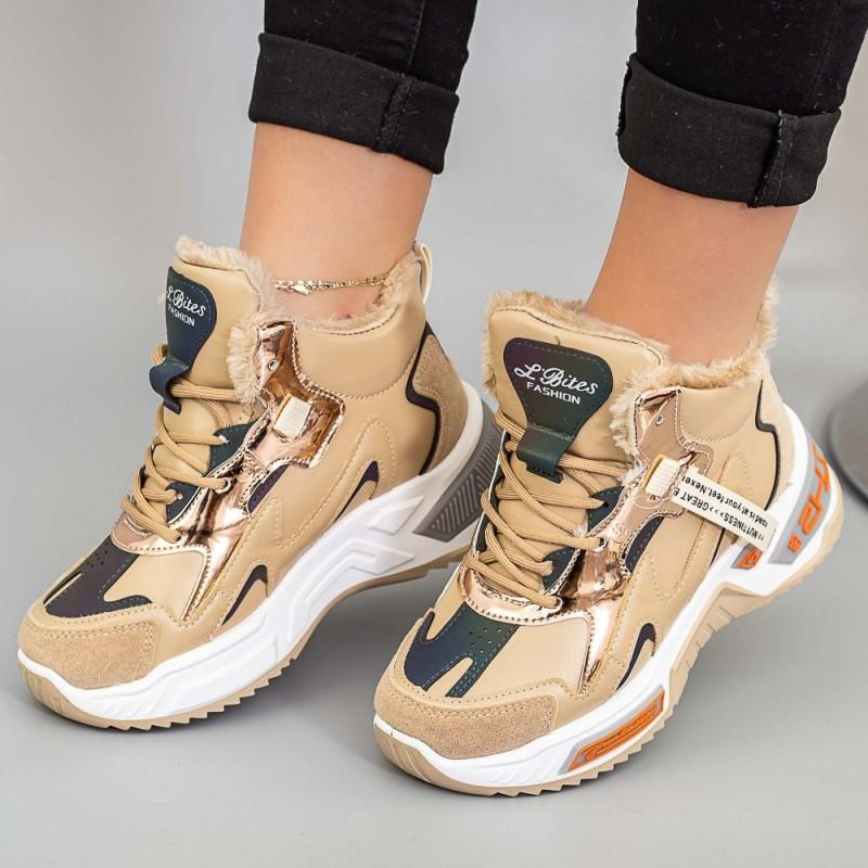 Pantofi Sport Dama LLS-022 Bej Mei