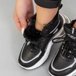 Pantofi Sport Dama LLS-021 Negru Mei