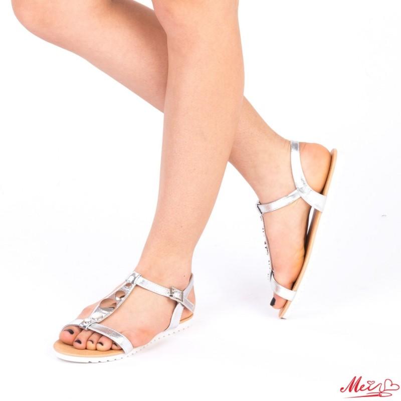 Sandale Dama LM228 Silver Mei