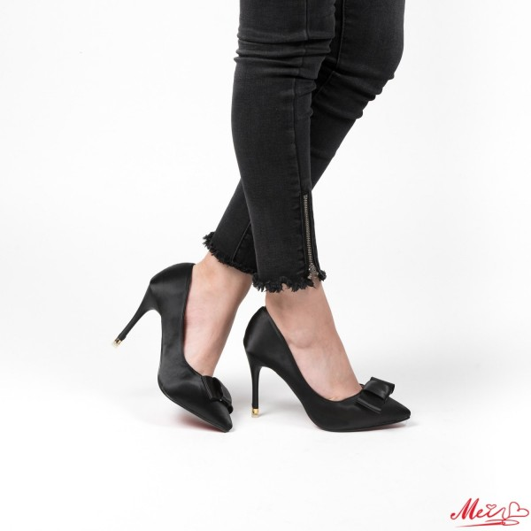Pantofi cu Toc M888-31 Black Mei