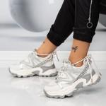Pantofi Sport Dama SZ337 Bej Mei