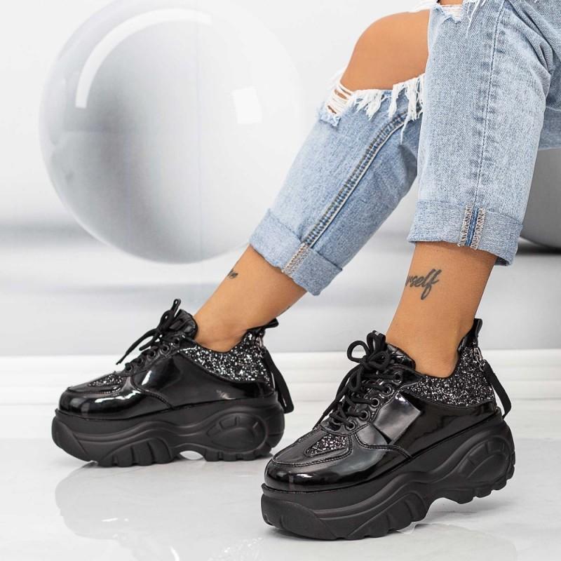 Pantofi Sport Dama WLGH55 Negru Mei