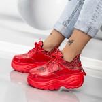 Pantofi Sport Dama WLGH55 Rosu Mei