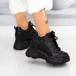 Pantofi Sport Dama SJN373 Negru Mei