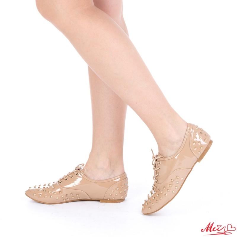 Pantofi Casual Dama OL00161 Khaki Mei