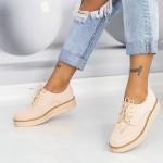 Pantofi Casual Dama DS18 Bej Mei