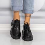 Pantofi Casual Dama XMT6A Negru Mei