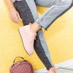 Pantofi Casual Dama HMM50 Roz Mei