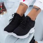 Pantofi Sport Dama cu Platforma KDN10 Negru Mei