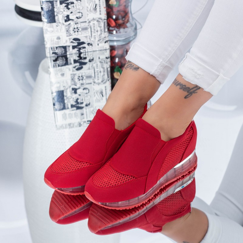 Pantofi Sport Dama HFD25 Red (C05) Mei