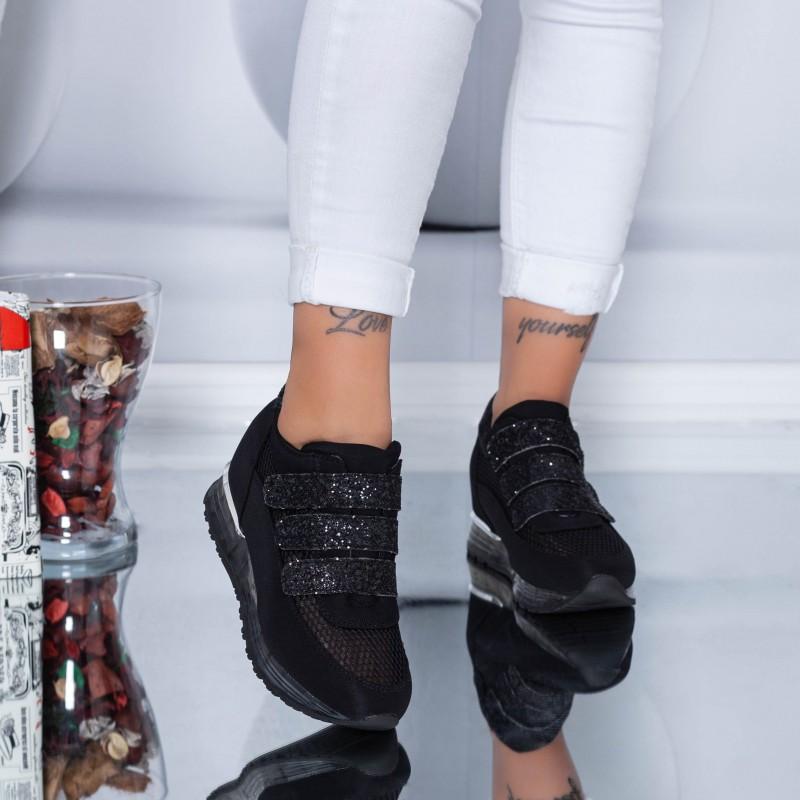 Pantofi Sport Dama SZ170 Black (N16) Mei