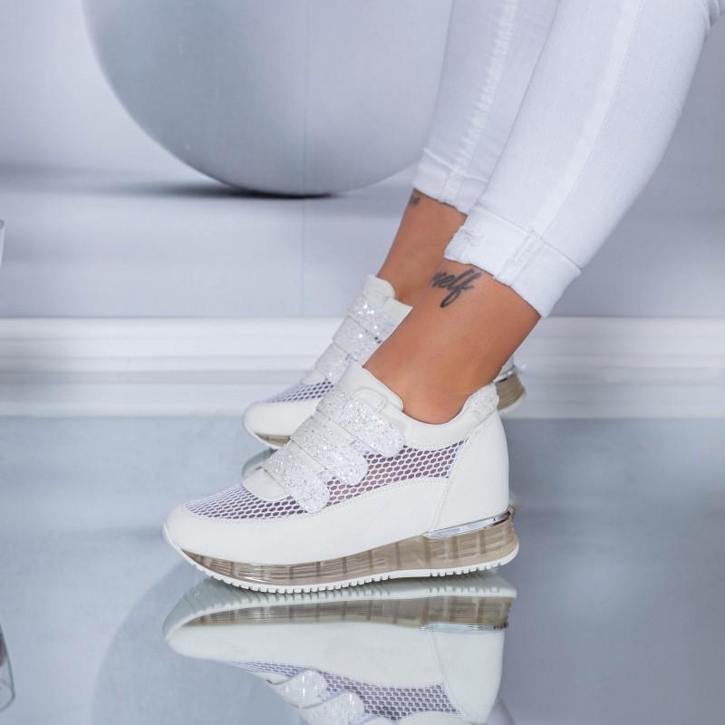Pantofi Sport Dama SZ170 White (N16) Mei