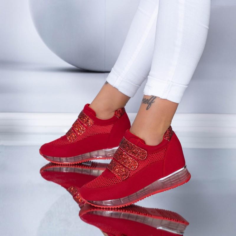 Pantofi Sport Dama SZ170 Red (N16) Mei