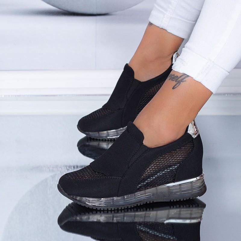 Pantofi Sport Dama HFD25 Black (C05) Mei