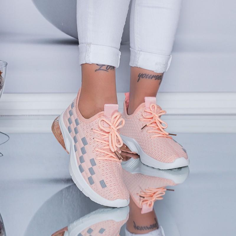 Pantofi Sport Dama LGFL1 Pink-Grey (D44) Mei