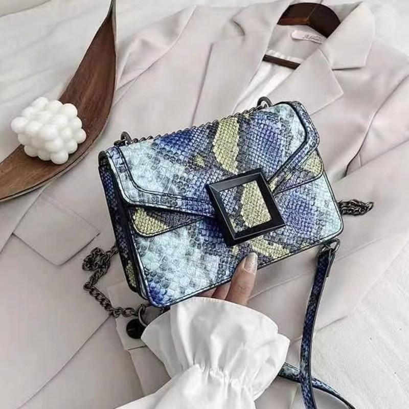 Poseta Dama RM806 Albastru Fashion