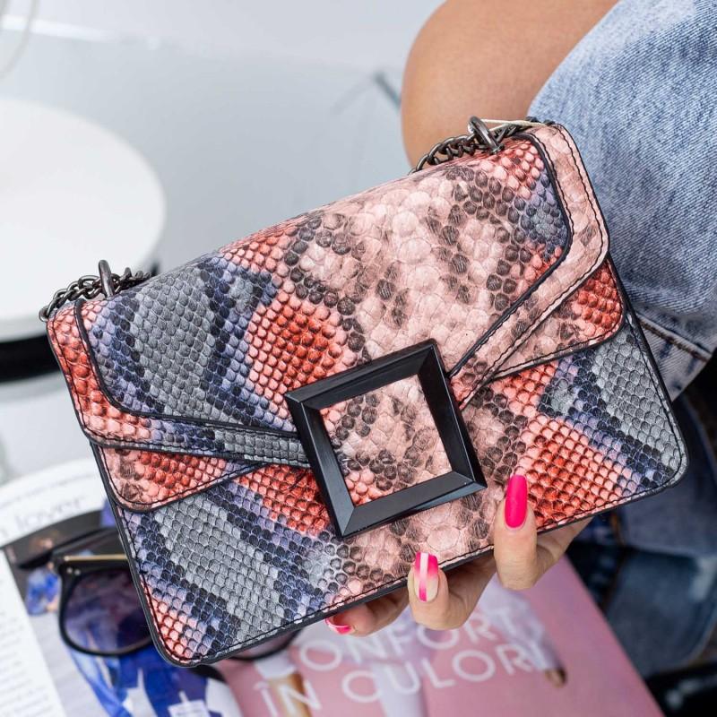 Poseta Dama RM806 Portocaliu (F09) Fashion