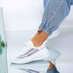 Pantofi Sport Dama XC25 Alb Mei