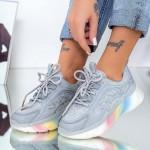 Pantofi Sport Dama 2108 Gri Mei