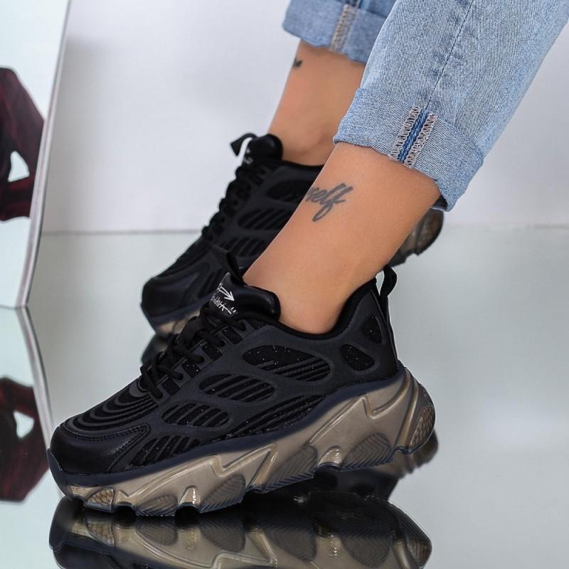 Pantofi Sport Dama SJ01 Negru Mei