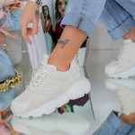 Pantofi Sport Dama SJ01 Bej Mei
