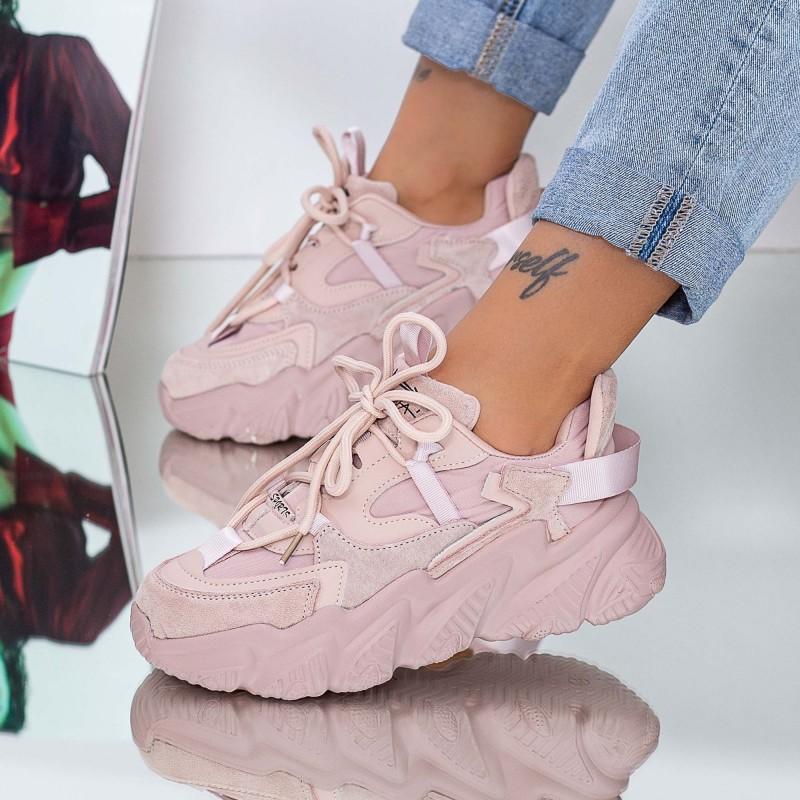 Pantofi Sport Dama SJ02 Roz Mei