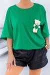 Tricou Dama 1824 Verde Fashion