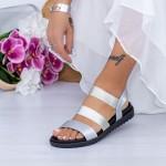 Sandale Dama PT1 Argintiu Mei