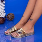 Papuci Dama WS63 Gold Mei
