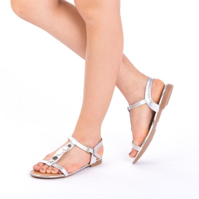 Sandale Dama CS2 Silver Mei