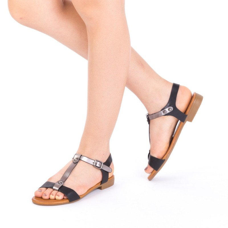 Sandale Dama JZF5 Black Mei