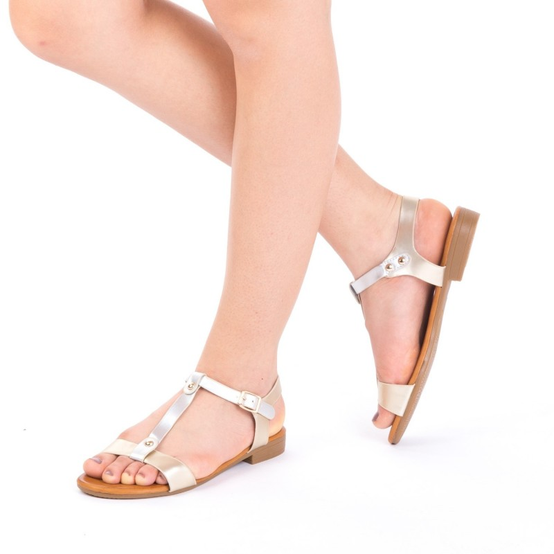 Sandale Dama JZF5 Gold Mei