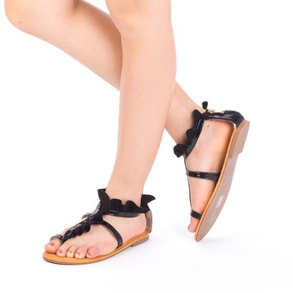 Sandale Dama XF8 Black Mei