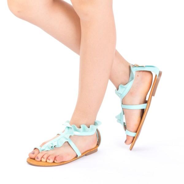 Sandale Dama XF8 Light Green Mei