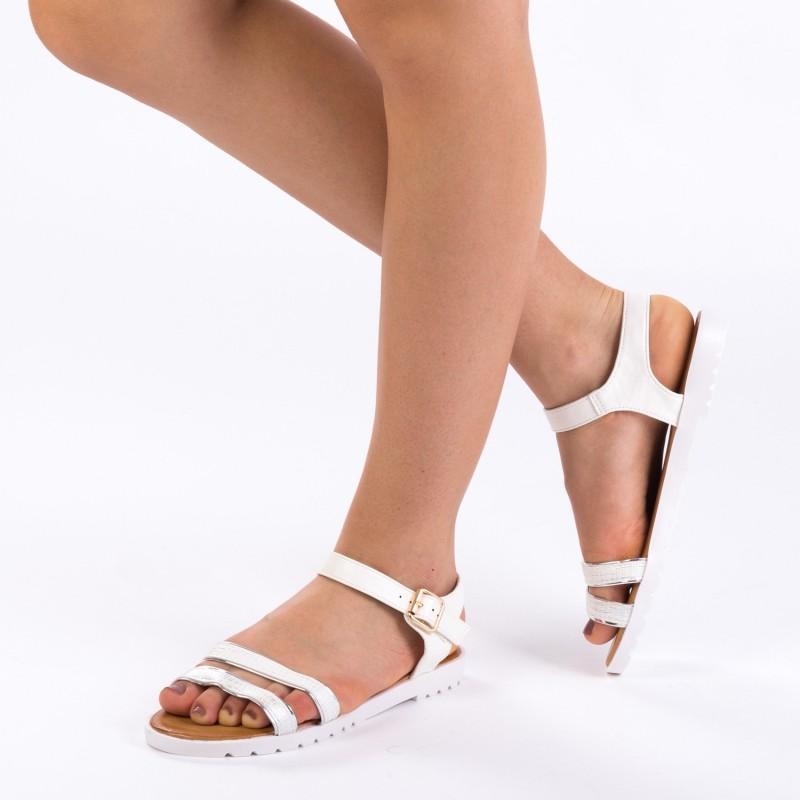 Sandale Dama WS56 White Mei